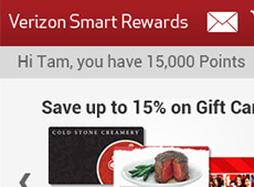 Verizon Smart Rewards – Mobile